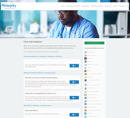 eIntegrity launches its new website